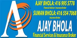 Ajay Bhola Financial Services & Insurance Broker
